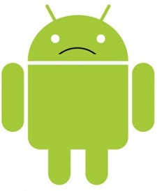 Sad Android