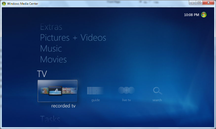 Windows Media Center